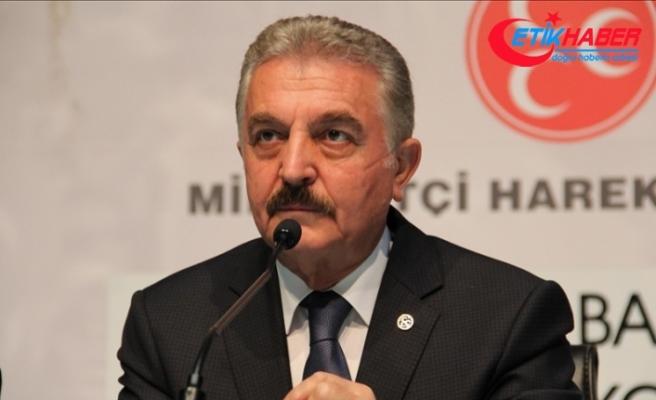 MHP'li Büyükataman: Milletimiz müsterih olsun: İt ürüyecek, kervan yürüyecek