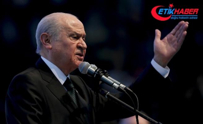 MHP Lideri Bahçeli: Be hey utanmazlar, yarı çıplak semazen nedir? Bu soysuzluk nasıl gösterilmiştir?