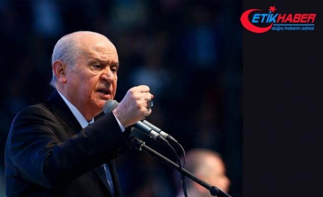 MHP Lideri Bahçeli: Türk kadını milli şerefimizin abidesidir