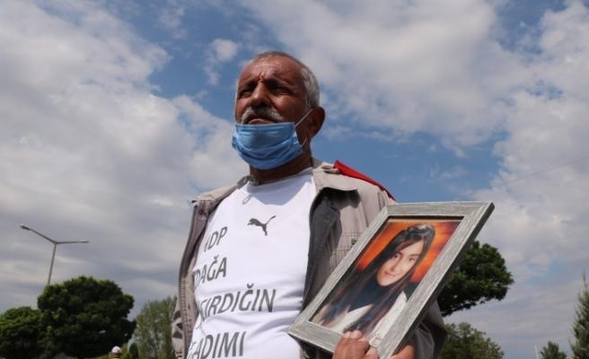 PKK'nın kaçırdığı kızını geri isteyen baba, Ankara'ya yürüyor