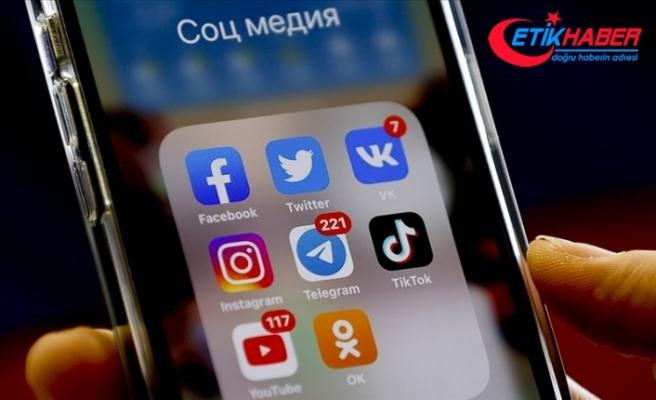 Rusya'dan Twitter, Facebook ve Telegram'a 35 milyon ruble para cezası
