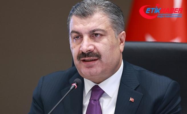 """Sağlık Bakanı Koca: """"Balıkesir mavi iller arasına bugün katıldı"""""""