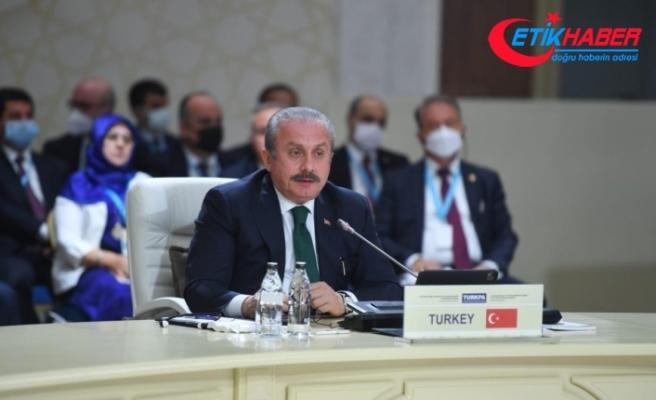 TBMM Başkanı Şentop: 'FETÖ, faaliyet gösterdiği ülkeler için milli güvenlik tehdidi'