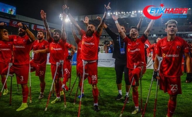 TFF, Ampute Milli Takımı'na 1,5 milyon lira başarı ödülü verecek