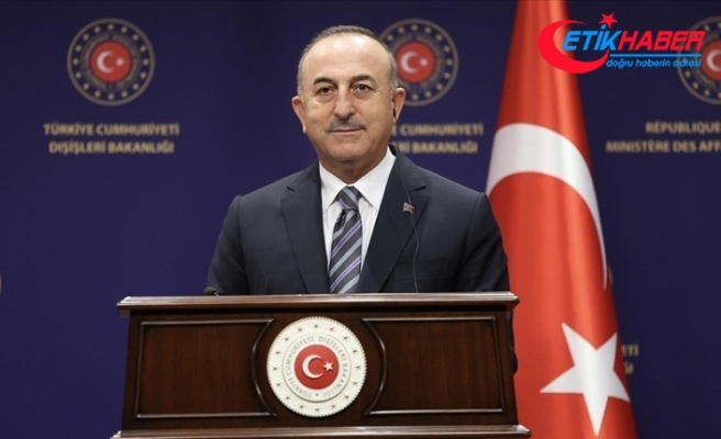 Dışişleri Bakanı Çavuşoğlu: Taliban, özellikle insani yardımlar ile yatırımların devam etmesi konusunda ricada bulundu