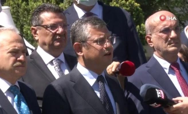 """CHP'li Özel: """"(Paris İklim Anlaşması) Onaylanmasını bekliyoruz, bu son derece olumlu bir gelişme"""""""