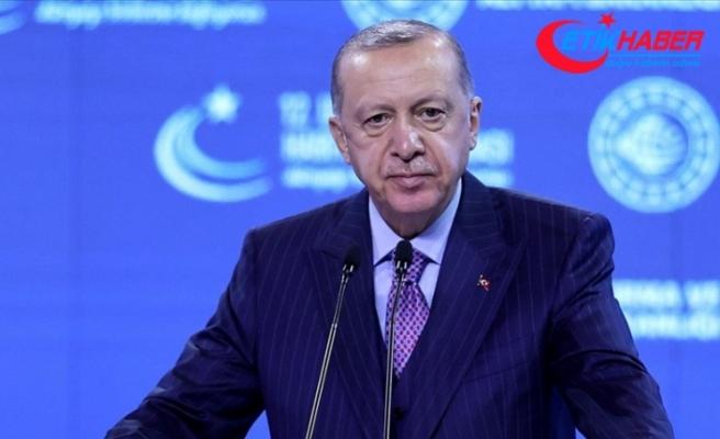 Cumhurbaşkanı Erdoğan: Önümüzdeki yıl milli elektrikli lokomotifimizin üretimine başlıyoruz