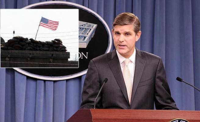 Pentagon'dan PYD 'karargahı'ndaki ABD bayrağı açıklaması