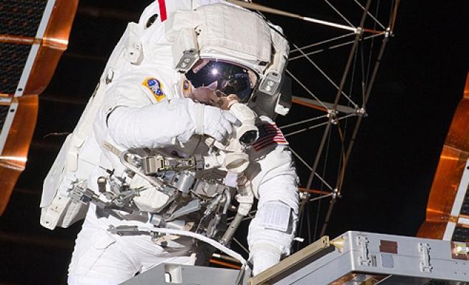 Başkanlık seçimleri için uzay istasyonundan oy gönderdi