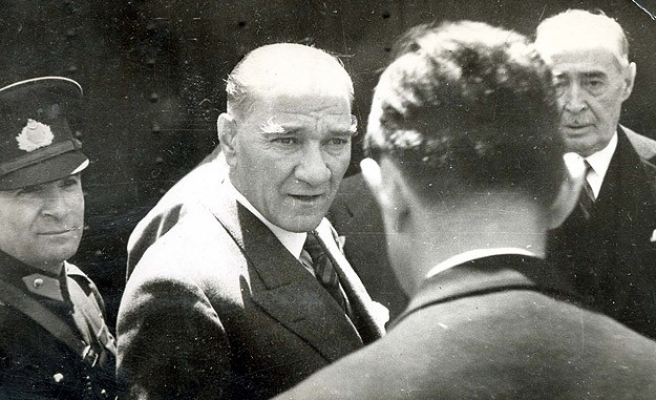 Büyük Önder Atatürk anıldı