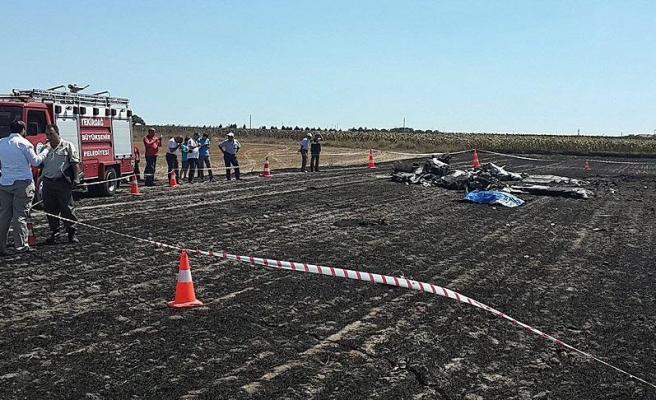 Tekirdağ'da sivil eğitim uçağı düştü: 2 ölü