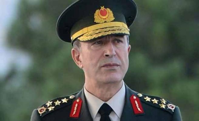 Genelkurmay Başkanı Akar: TSK, gücünden hiçbir şey kaybetmediğini göstermektedir