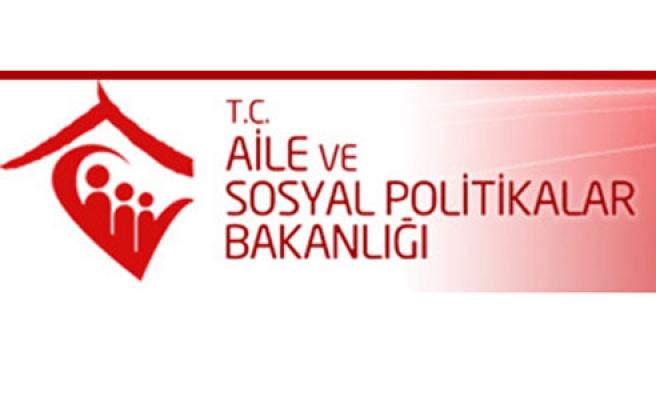 Aile ve Sosyal Politikalar Bakanlığında 206 kişi görevden uzaklaştırıldı