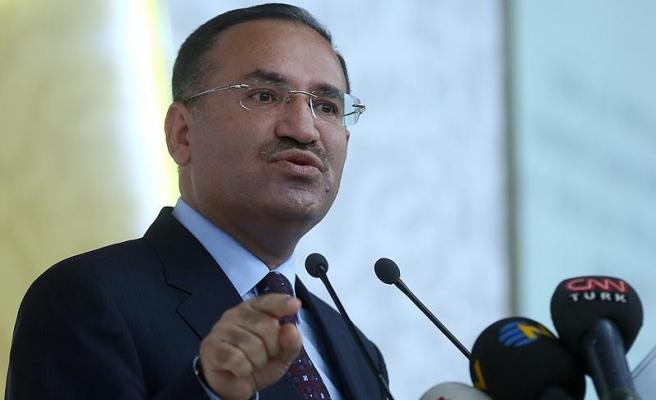 Bozdağ: Benim toplantımı iptal eden belediye teröristlerin yoğun baskısı altında