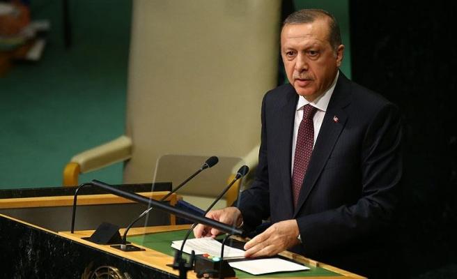 Erdoğan: Arap Birliği'nin dik durması lazım, niye dik durmuyorlar?