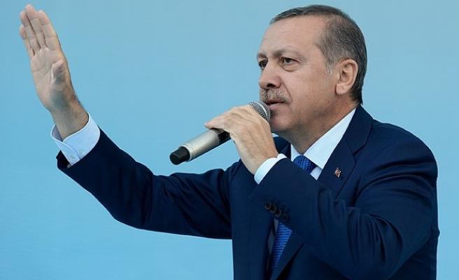 Erdoğan: Gazi'nin adını ağızlarına almayı hak etmiyorlar