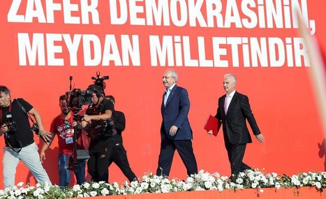 Kılıçdaroğlu: Yenikapı'ya gitmekten pişman değilim