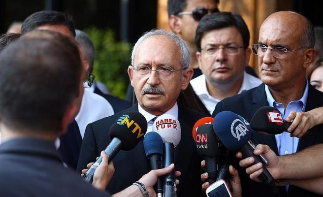 Kılıçdaroğlu: Parlamenter sistemde ne şikayetimiz var ortaya koymamız lazım