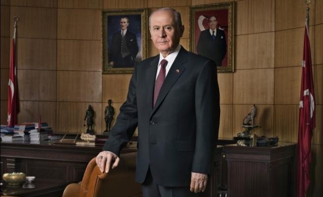 """MHP Lideri Bahçeli'den """"Kerkük ve Kudüs"""" Mesajı"""