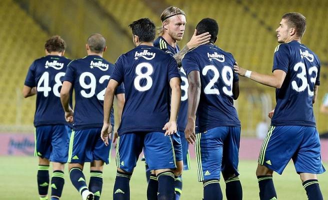 Fenerbahçe sezonun ilk galibiyetini 5 golle buldu