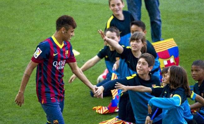 Neymar'dan veda mesajı