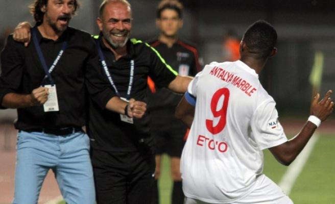 Antalyaspor'dan 'Eto' açıklaması