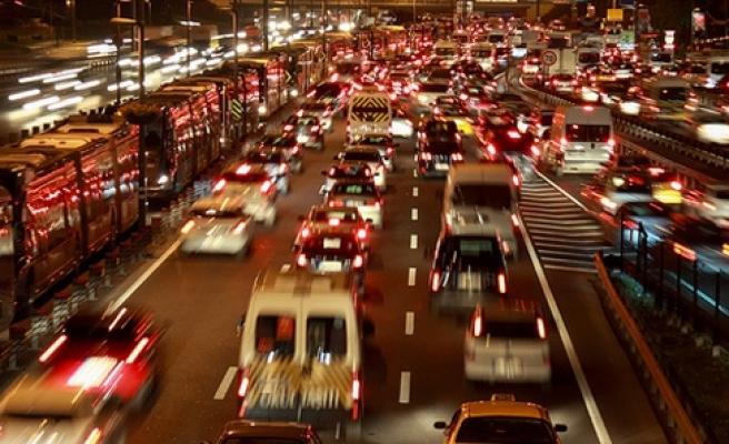 Trafiğe kayıtlı araç sayısı 20 milyon 159 bin oldu