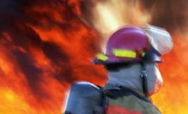 Üsküdar'da AVM'de yangın