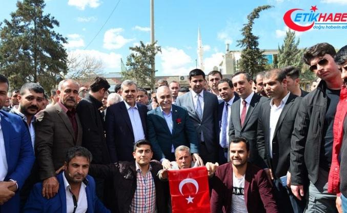 'Allah'ın izniyle AK Parti olarak Suruç'u yeniden inşa edeceğiz'