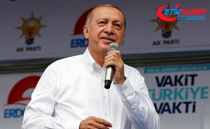 Cumhurbaşkanı Erdoğan: Şov değil icraat yapmanın peşinde koştuk