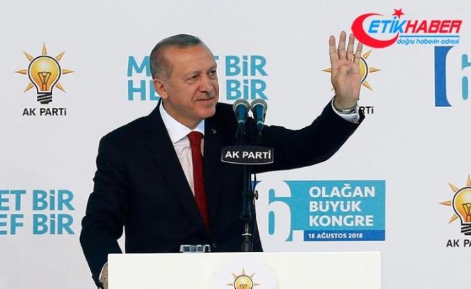 Erdoğan yeniden AK Parti Genel Başkanı