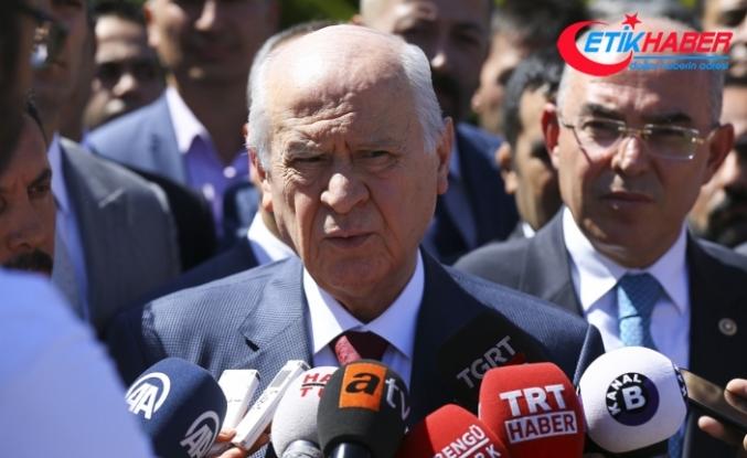 MHP Lideri Bahçeli: Trump, ölçüyü kaçırmış, ne söylediğinin farkında değil