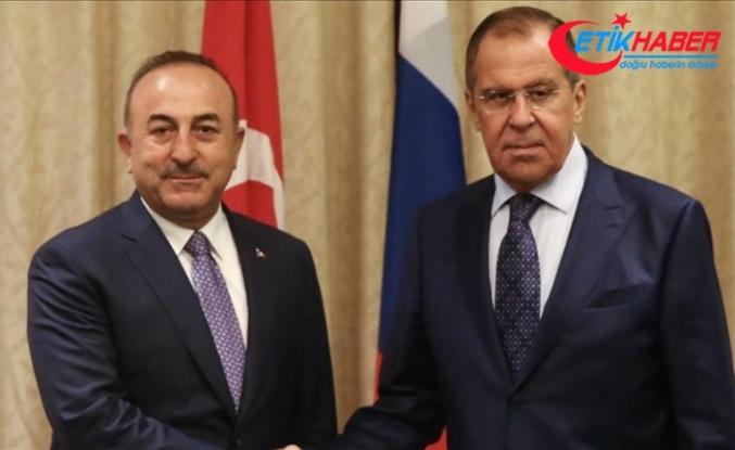 Çavuşoğlu, Lavrov ile Tayland'da görüştü