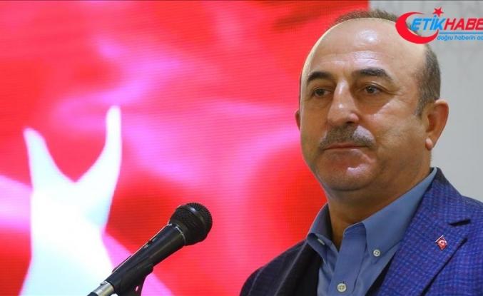 Çavuşoğlu'dan skandal haritaya ilişkin açıklama