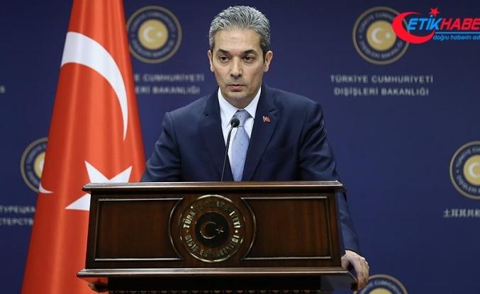 """Dışişleri Bakanlığından Suriye'de """"güvenli bölge"""" açıklaması"""