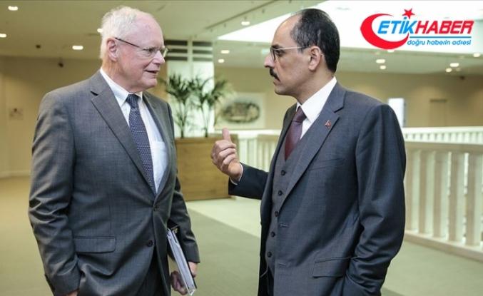 Cumhurbaşkanlığı Sözcüsü Kalın ile Jeffrey Suriye'yi görüştü
