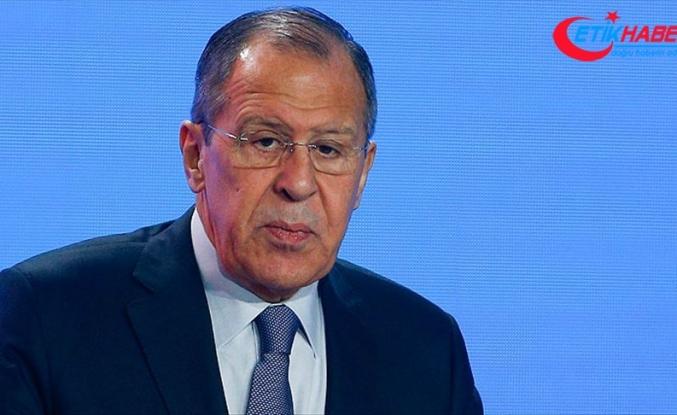 Lavrov: Türkiye'nin sınır güvenliğiyle ilgili endişelerini anlıyoruz
