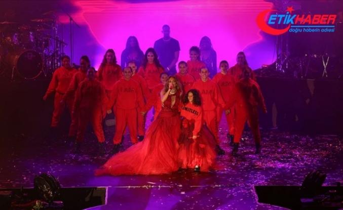 Antalya'da Jennifer Lopez rüzgarı esti