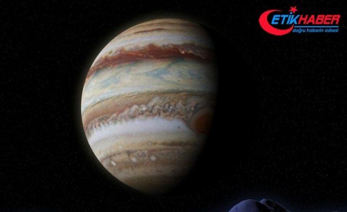 Jüpiter gençken oluşum aşamasındaki bir gezegenle çarpışmış olabilir
