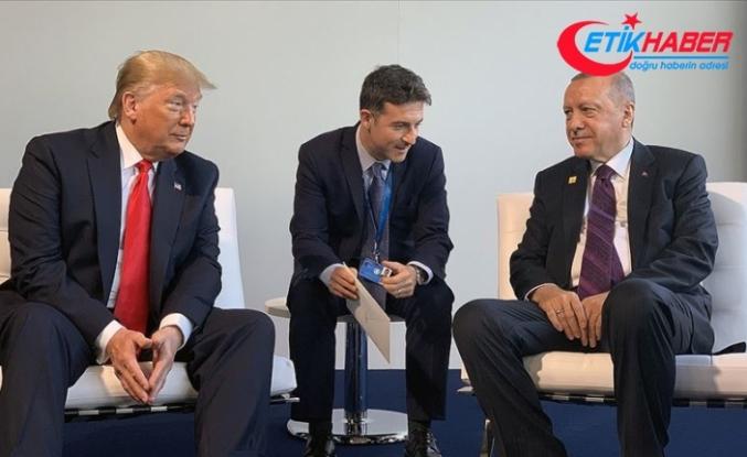 Cumhurbaşkanı Erdoğan ile ABD Başkanı Trump bir araya geldi