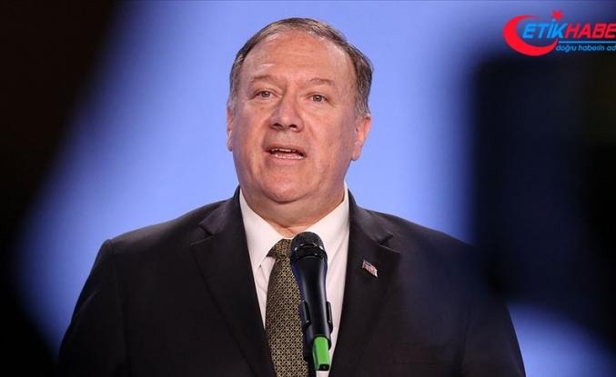 ABD Dışişleri Bakanı Pompeo'dan Türkiye'ye destek mesajı