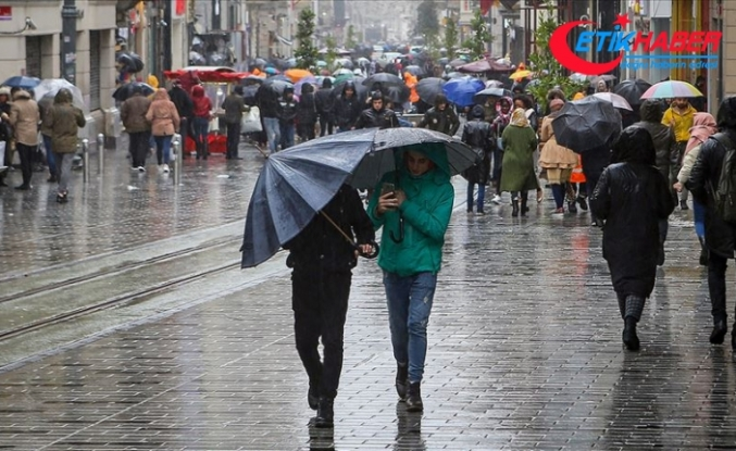 İstanbul'da yarın yağmur bekleniyor