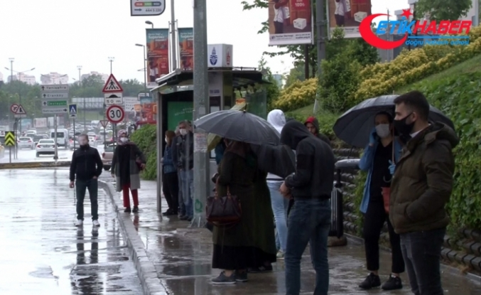 Beklenen yağmur İstanbul'da etkili olmaya başladı