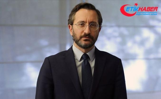 İletişim Başkanı Altun Türkiye'nin koronavirüsle mücadelesini Washington Times'a anlattı