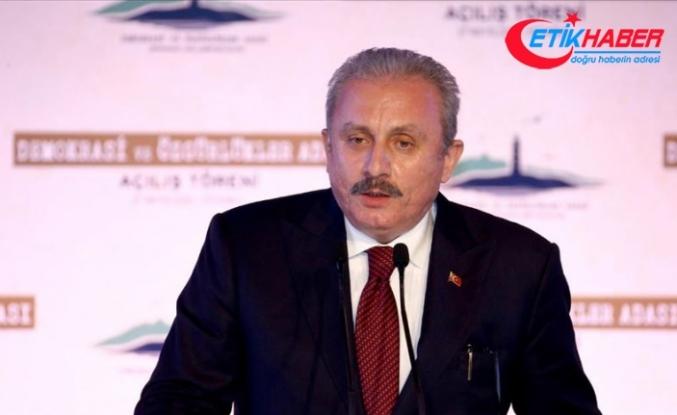 TBMM Başkanı Şentop: Yassıada'nın bu yeni yüzü tarihi bir yüzleşme ve yepyeni bir başlangıçtır