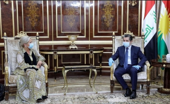 """BM: """"Erbil ve Bağdat arasında kalıcı bir çözümü destekliyoruz"""""""
