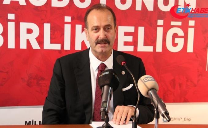 """MHP'li Osmanağaoğlu'ndan CHP'ye çok sert """"Askıda Ekmek Kampanyası"""" cevabı"""