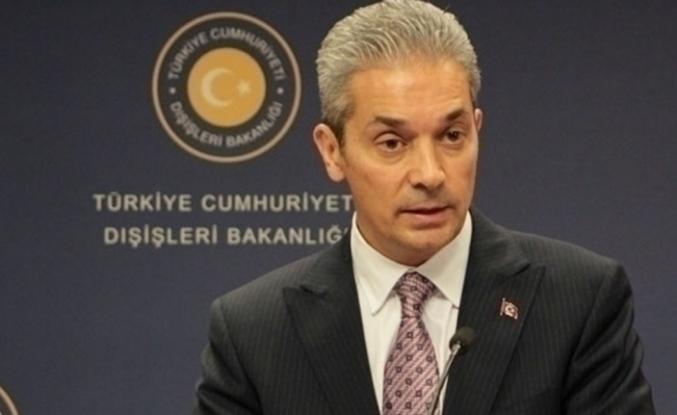Dışişleri'nden Türk gemisinin aranmasına sert tepki