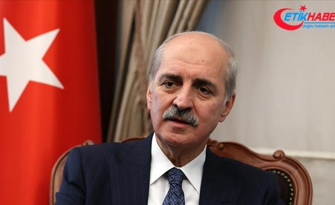 """AK Parti Genel Başkanvekili Kurtulmuş: """"İsrail derhal durdurulmalıdır"""""""
