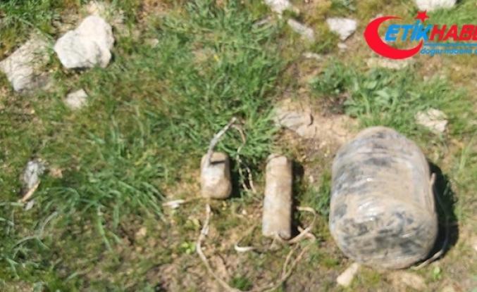 Bitlis kırsalında EYP ve top mühimmatı ele geçirildi